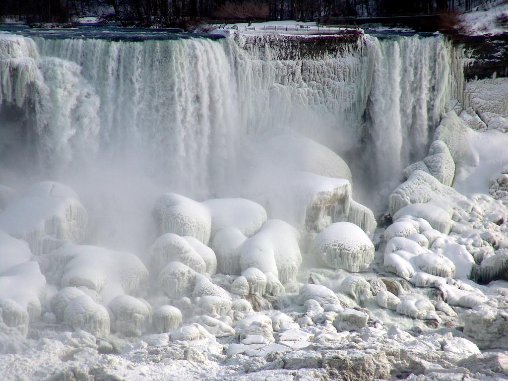 Niagara Falls is Frozen Again (15 pics) |Niagara Falls Frozen 2009