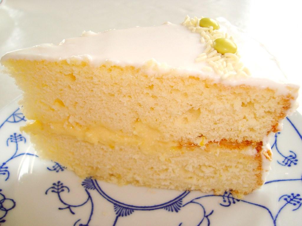 Martha Stewart Lemon Cake With Lemon Curd