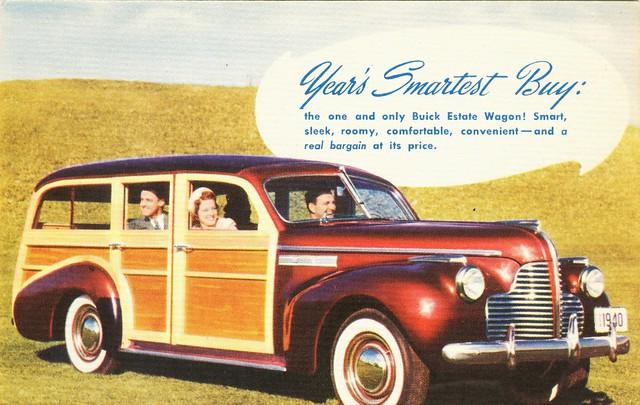 1940 Buick Super Estate Wagon Alden Jewell Flickr