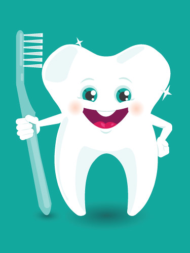 1 Toothed Cartoon Characters : Tooth character vector c oksana