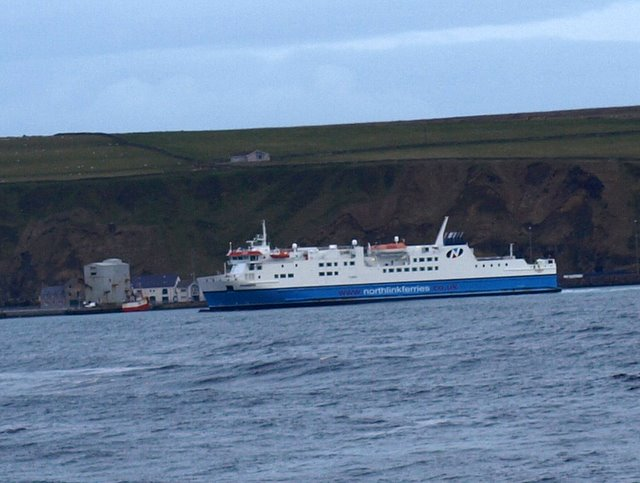 Ferry From Thurso To Orkney Islands