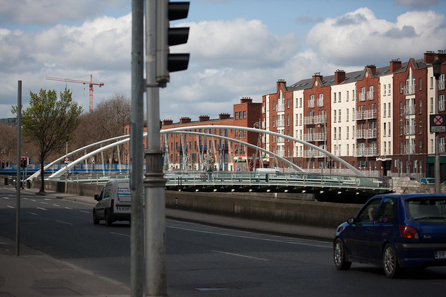 James Joyce Bridge | James Joyce Bridge is a road bridge ...