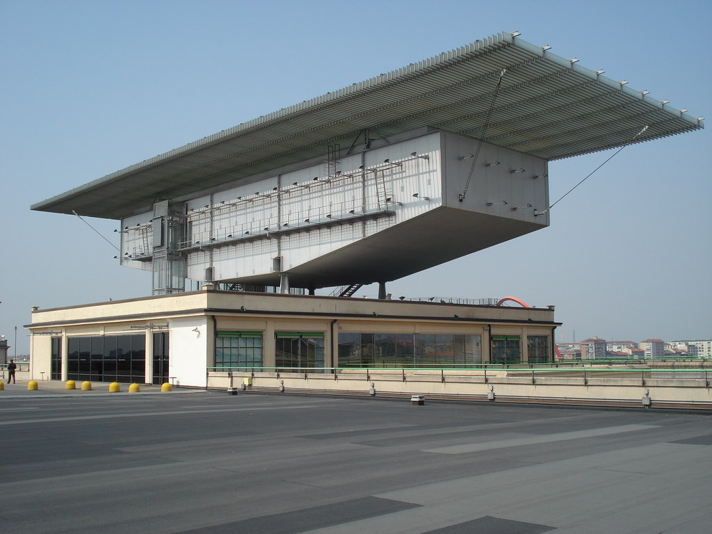 Lingotto Art Gallery On The Roof Of The Lingotto
