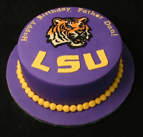Lsu Birthday Cake Ideas