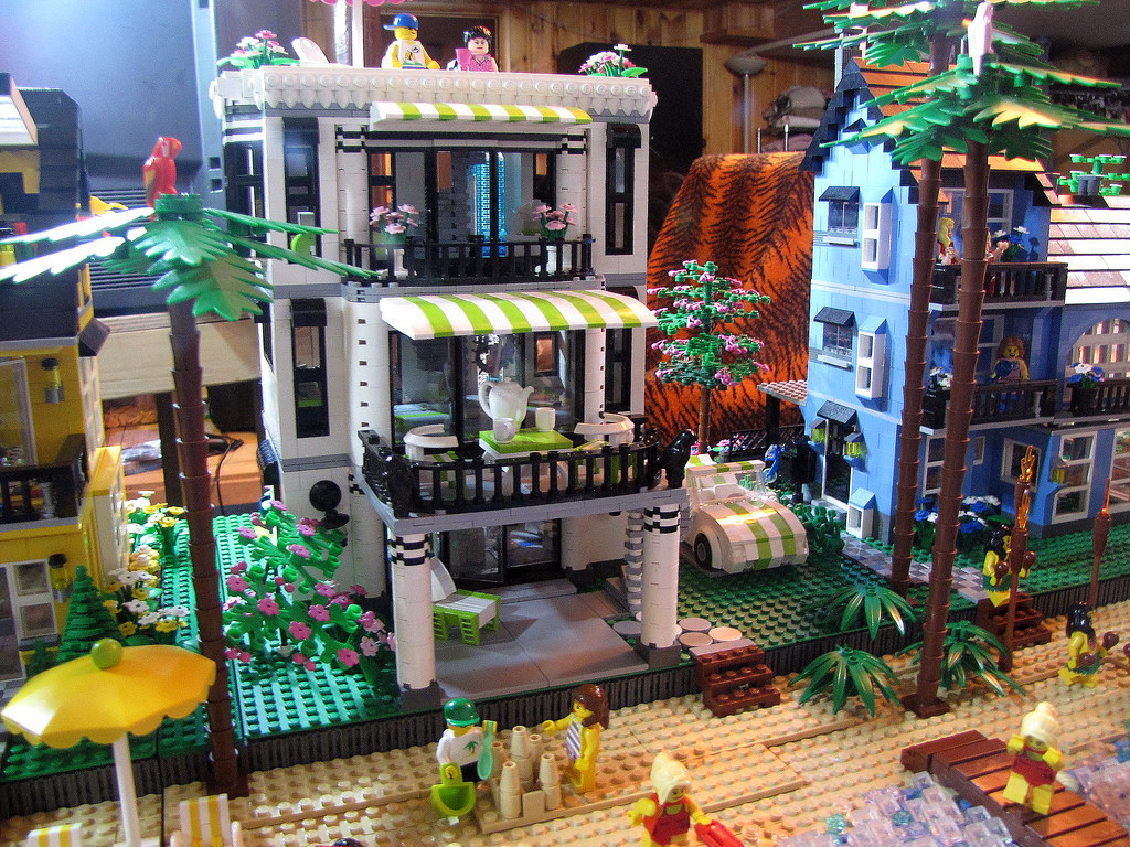 House Creator 3d Lego Beach Houses Fuzzy Thoughts Flickr