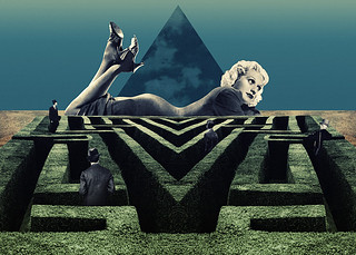 Labyrinthic Love | by Julien Pacaud