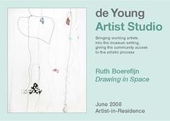 Artist-in-Residence postcard