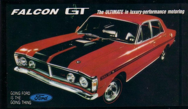 Falcon For Sale >> 1971 Ford XY GT Falcon Ad | This is the Dream of Most Aussie… | Flickr