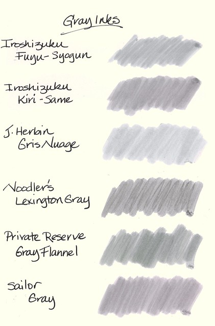 Are Gray Inks Worth Buying Page 2 Inky Thoughts The Fountain Pen Network