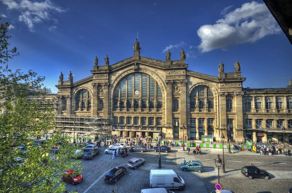 Paris gare du nord sncf tgv train station i for Gare du nord paris