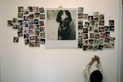 Polaroid wall flickr photo sharing - Mur photo polaroid ...