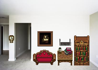 8 Bit Furniture One Way To Decorate Your Place P