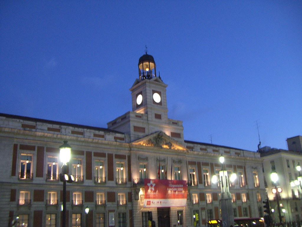 58 Madrid Puerta Del Sol Real Casa De Correos Real