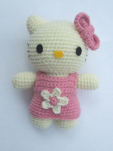 Crochet Doll Hat Pattern Free : Hello Kitty Amigurumi Made for my niece. She is 6 months ...