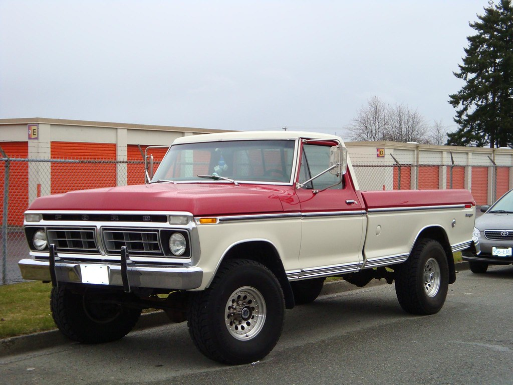 1976 ford ranger f 250 pickup truck 4x4 custom cab flickr. Black Bedroom Furniture Sets. Home Design Ideas