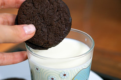 homemade oreos & milk | by sassyradish