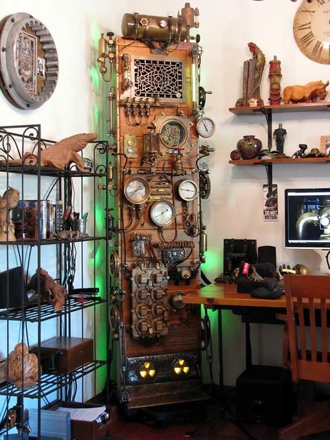 SteamPunk Frankenstein Computer - By Dana Mattocks | Flickr