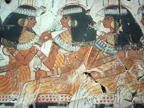 Ancient egyptian tomb art flickr photo sharing for Ancient egyptian tomb decoration