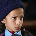 Girl Student at Shreeshitalacom Lower Secondary School. Kaski, Nepal.