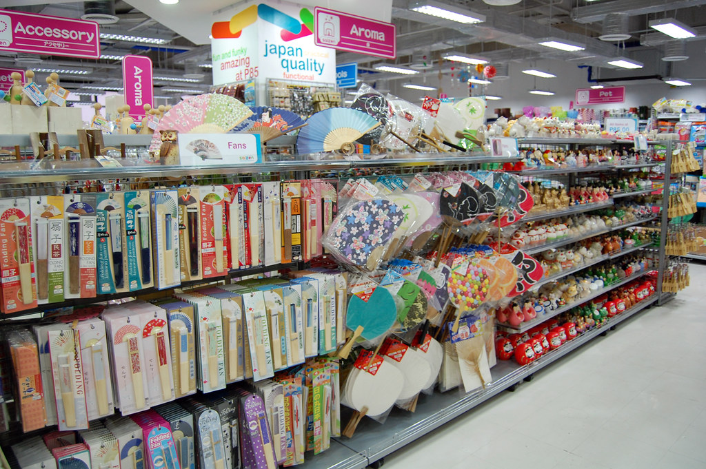 Knitting Store In Tokyo : Saizen daiso robinsons galleria magnetic rose flickr