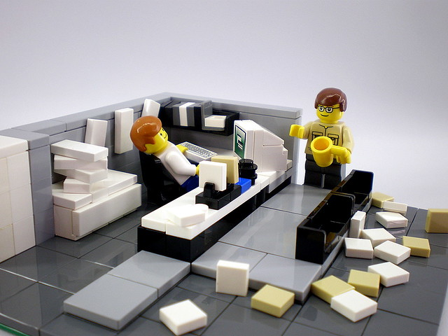Office Space | By Legozilla Office Space | By Legozilla