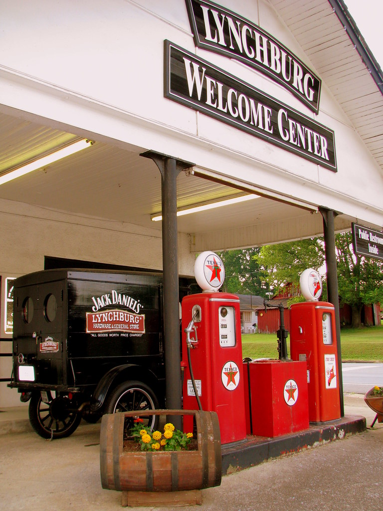 lynchburg tn welcome center located at the corner of