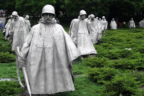 Korean War Memorial Washington Washington dc Korean War