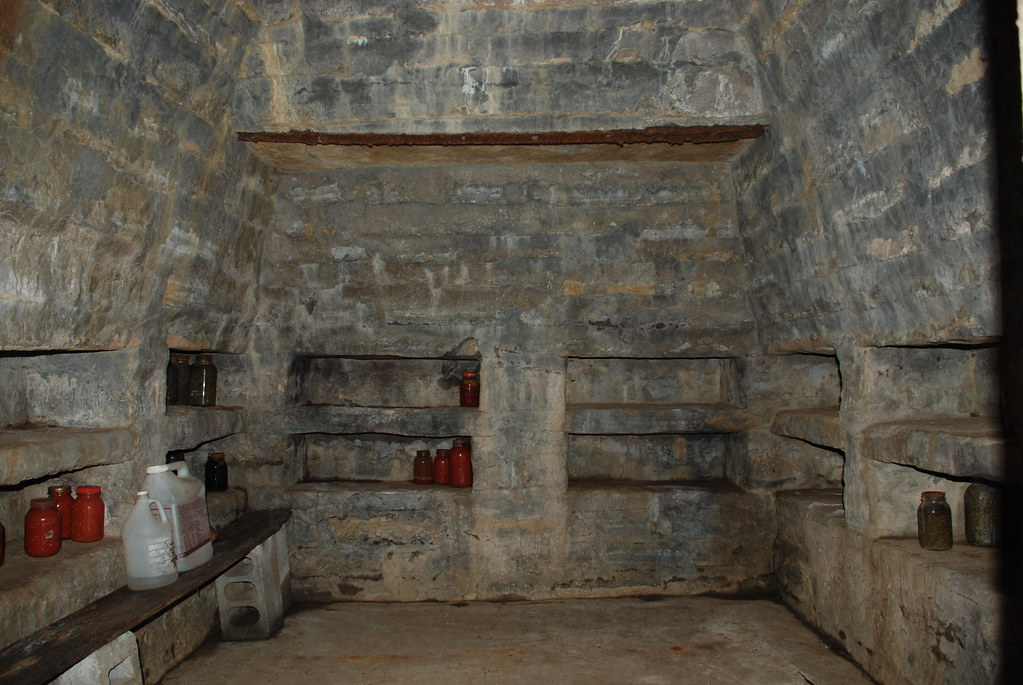 Stone Cellar Built By Ben Quot Fox Quot Spalding Located On The