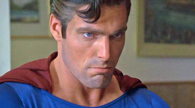 Jeff East looks dumb in Superman The Movie Apparently 25 year old Christopher Reeve Looked way too old to play teenaged Clerk Kent in Superman The Movie so they cast Jeff East who was 20 years old but looked like he was about 30