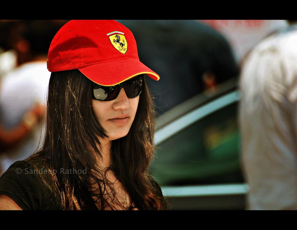 Ferrari Girl Subject Ferrari Girl Location Mumbai