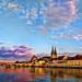 Regensburg sunset