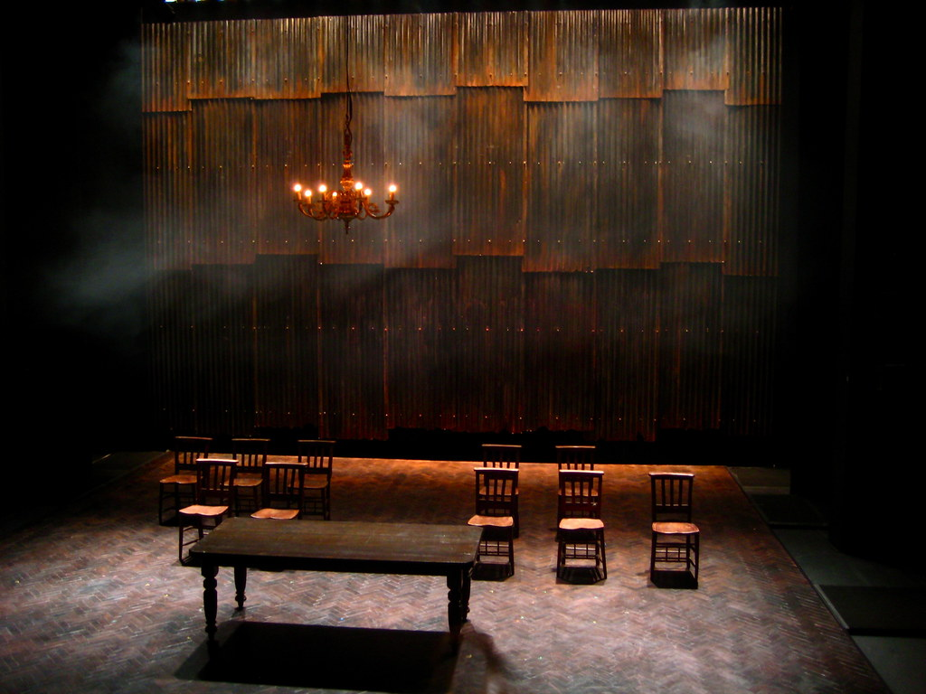 Empty set the set for be near me at the traverse for 13 a table theatre