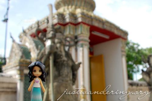 Sayuri at Wat Po