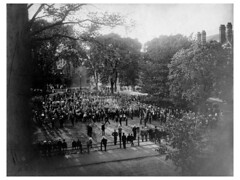 Skull and Bones Tap Ceremony, ca. 1901 | by WNPR - Connecticut Public Radio