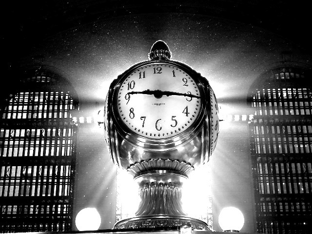 new york city grand central station clock bw grand central clockGrand Central Station Clock Black And White