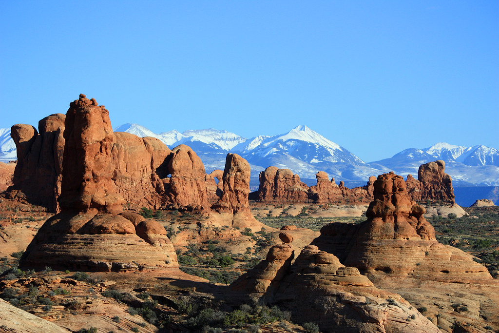 Garden Of Eden Arches National Park Late Afternoon At The Flickr