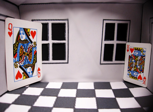 Illusions Room Ames Room Optical Illusion