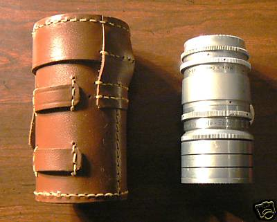 Tele-Sandmar 100mm F 4.5NR 3696 c Germany Telephoto Lens w/Argus Pouch | by goblinbox_(queen_of_ad_hoc_bento)