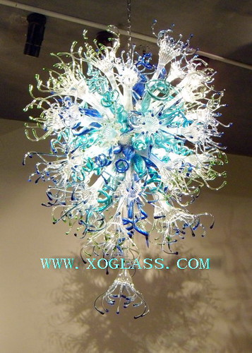 Xo Art Glass Chandelier Xo 9011 Material Art Glass Self Flickr