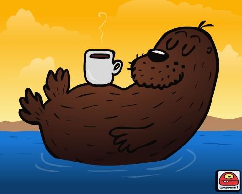 Good Morning Otter Meme : Good morning otter goopy mart flickr
