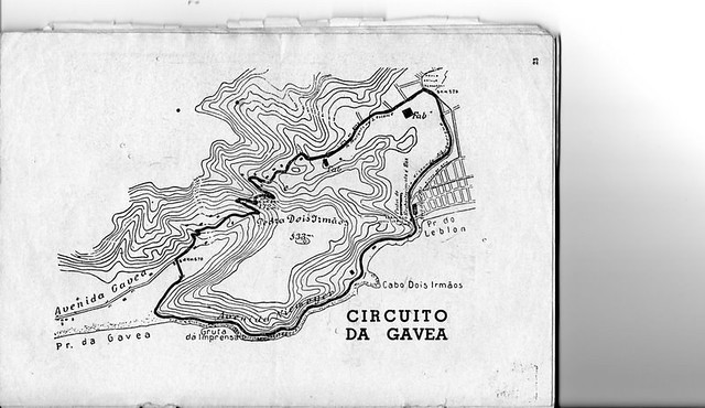 Circuito Da Gavea : Mapa do trampolim diabo circuito da gávea acesse