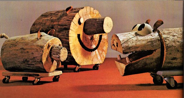 charm your friends with log animals 167 things to make