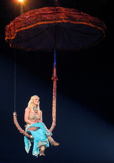 Britney Spears Concert - Giant Bollywood Umbrella | by Anirudh Koul