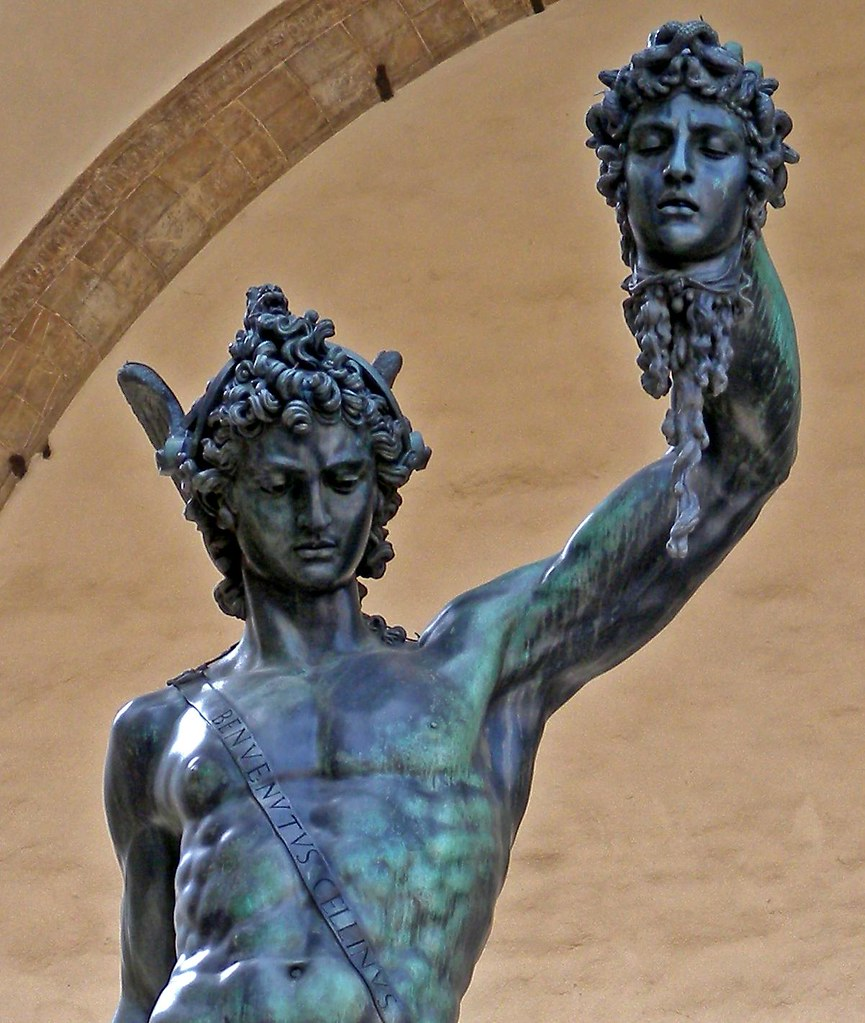 Perseus With The Head Of Medusa By Cellini 01