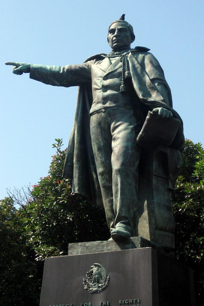 Washington DC - Foggy Bottom: Benito Juárez   This statue ...