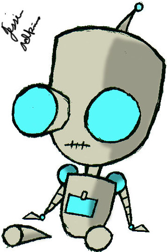Invader Zim Gir Robot Gir from Invader Zim (...