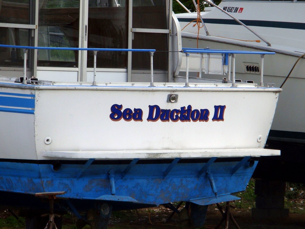 Funny boat names sea duction ii kyle pasciutti flickr Funny fishing boat names