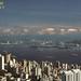 Hong Kong, morning view from Victoria Peak, 1983