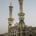 Haram in Mecca close to sunrise