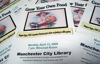 Gardening Program on April 13th | by Manchester Library